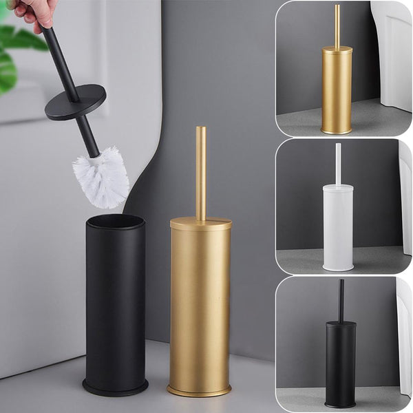 Black/White Bathroom Toilet Brush Holder