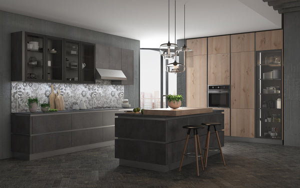 European Designed Kitchen Cabinets Deluxe Series