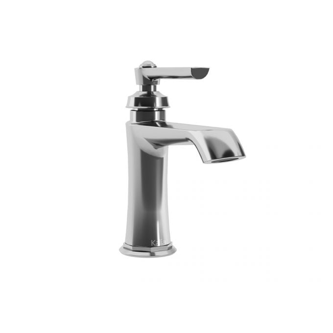 Rustik Single Hole Faucet with Pop-Up Drain
