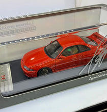 Load image into Gallery viewer, Ignition model ig NISSAN SKYLINE  GT-R(BCNR33) MATSUDA STREET VER WINE RED 1/43