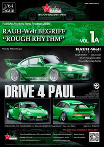 Preorder - FuelMe 1/64 Resin Model RWB993 1A Rough Rhythm Drive for Paul- Release Date : Mar 2021