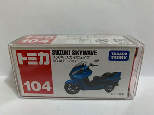 Takara Tomy Tomica 104 Suzuki Skywave (Made In China) (#Y)
