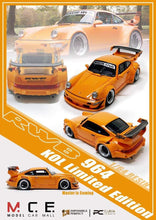 Load image into Gallery viewer, MCE 1/64 Impossible Perfect RWB 964 Orange Resin Model Car  KOL Limited Edition