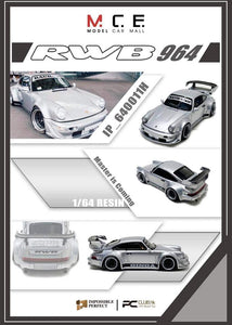 Preorder - MCE 1/64 Impossible Perfect RWB 964 Ginga Resin Model Car  - Release Date : Nov 2020