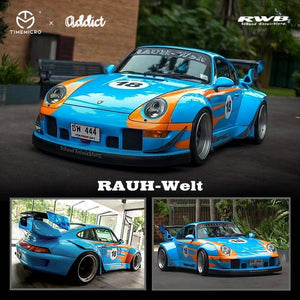 Preorder - Time Model x addict 1/64 Diecast RWB 993 Thailand Exclusive No.18 - Release Date : Oct 2020
