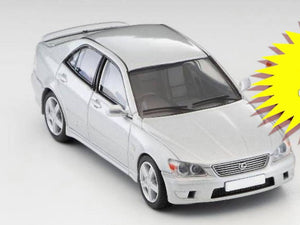Preorder - Tomy Tomica 1/64 TLV Tomytec 1/64 Toyota Altezza Silver Hong Kong Exclusive - Released Date : Feb 2021