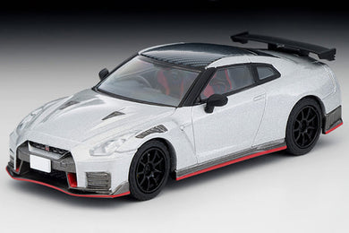 Preorder - Tomy Tomica 1/64 Tlv Tomytec 1/64 LV-N217c NISSAN GT-R NISMO 2020 Silver - Released Date : Feb 2021