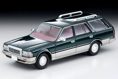 Preorder - Tomy Tomica 1/64 Tlv Tomytec 1/64 LV-N209b Nissan Cedric Wagon V20E SGL Limited ( Silver / Green ) - Released Date : Feb 2021