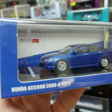 Load image into Gallery viewer, INNO64 1/64 HONDA ACCORD Euro-R (CL7) Artic Blue Pearl W/ Extra Wheels & Extra Water Decals