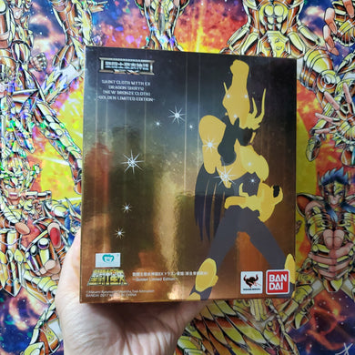 BANDAI Saint Seiya Myth Cloth 30th Anniversary Event EX Gold Dragon Shiryu V2 (Brand New) ( Free Shipping Worldwide !!! )