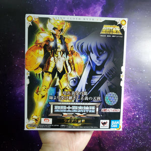SAINT SEIYA LIBRA SHIRYU MYTH CLOTH EX BANDAI FIGURE NEW - Crushed corner ( Free Shipping Worldwide !!! )