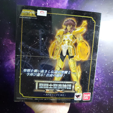 Bandai Saint Seiya Cloth Myth EX Gold Cloth Libra Dohko Figure Version 1st Edition 1st Edition - USED ( Free Shipping Worldwide !!! )