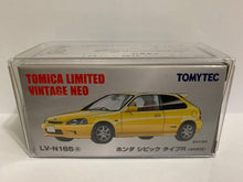 Load image into Gallery viewer, Takara Tomy Tomica Limited Vintage Neo Tomytec LV-N165a Honda Civic Type R EK9 (#Y)