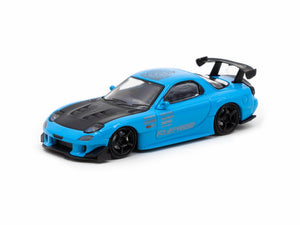 Ignition Model 1/64 Mazda RX-7 (FD3S) RE Amemiya Light Blue