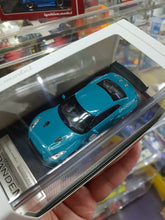 Load image into Gallery viewer, Tarmac ignition model 1:64 Pandem TRA Racing IG1401 Nissan GT-R Turquoise Blue ( Free Shipping Worldwide !!! )