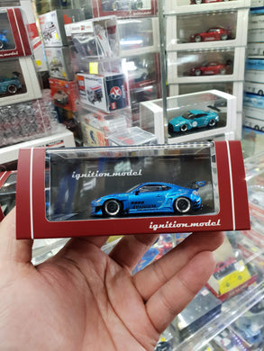 Tarmac ignition model 1:64 Pandem TRA Racing IG1399 Toyota 86 V3 Blue Metallic