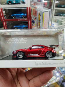 Tarmac ignition model 1:64 Pandem TRA Racing IG1405 Toyota 86 V3 Red Metallic