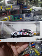 Load image into Gallery viewer, Tarmac Works 1/64 Honda Civic EG6 Gr.N #57 Nori. P House Eastern Toy Shop Exclusive