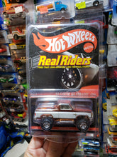 Load image into Gallery viewer, Hot Wheels RLC 83 Chevy Silverado 4X4 Red Line Club Real Riders 2014