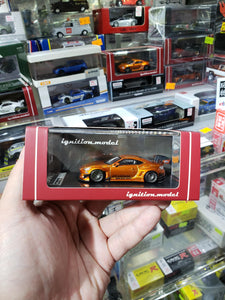 Tarmac ignition model 1:64 Pandem TRA Racing IG1404 Toyota 86 V3 Orange Metallic