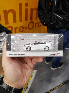 Inno64 Honda Civic Type R Fd2 White 1/64 Hong Kong Toysoul Exclusive