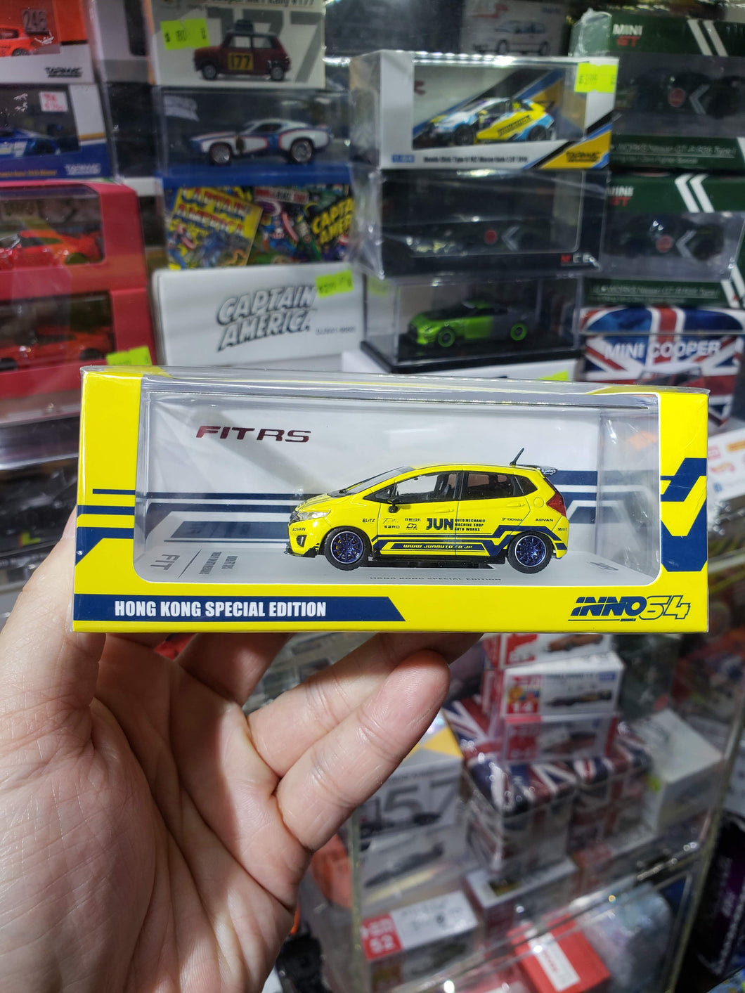 INNO64 HONDA FIT JUN TOYSOUL EXCLUSIVE