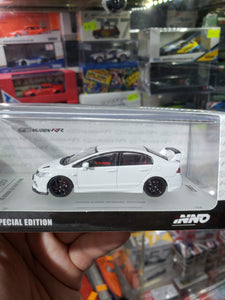 Inno64 Honda Civic Mugen RR White 1/64 Hong Kong Toysoul Exclusive