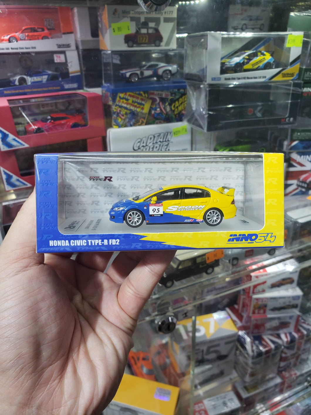 Inno64 Honda Civic Type R Fd2 #95 Spoon Sports Type One
