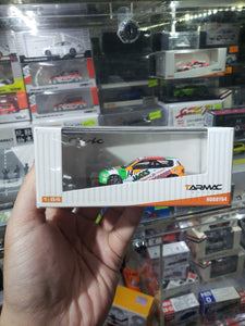 Tarmac Works 1/64 Honda Civic EG6 Spoon Group A Racing JACCS #14