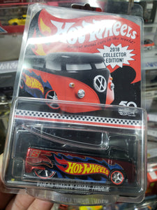 Hot Wheels 50th 2018 Collector Edition Volkswagen VW Drag Truck HK Promo Kmart AT
