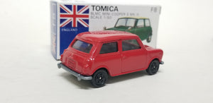 1/50 Tomica F8 Mini Cooper S MK-III Red