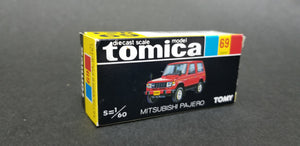 Tomica 1/60 69 Mitsubishi Pajero Unpainted. Made in Japan