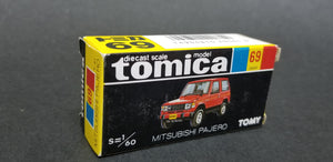 Tomica 69 Mitsubishi Pajero Police. Made in Japan