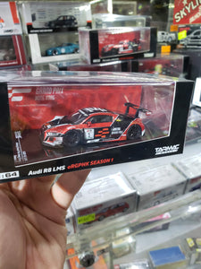 *Special Edition* Tarmac Works 1/64 Audi R8 LMS eRacing Grand Prix Hong Kong