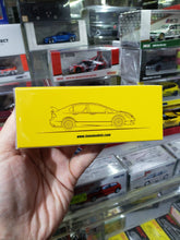 Load image into Gallery viewer, Inno64 Honda Civic FD2 1/64 Yellow Body Black Hood Singapore Exclusive