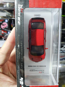 Inno64 Honda Civic Fd2 RR Mugen Red