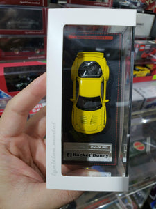 Ignition Model 1/64 Rocket Bunny RX-7 (FD3S) Yellow (Tarmac Works Exclusive) AT
