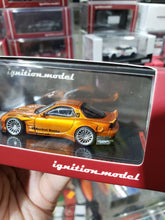 Load image into Gallery viewer, Ignition Model 1/64 Rocket Bunny RX-7 (FD3S) Orange Metallic ig1650