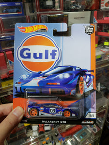 Hot Wheels 1/64 Car Culture  Real Riders Gulf Mclaren F1 GTR