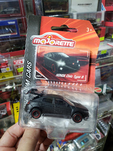 Majorette 1/64 Honda Civic Type R Black