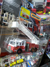 Load image into Gallery viewer, Matchbox Working Rigs MBX Rescue Pierce Velocity Platform Fire Truck