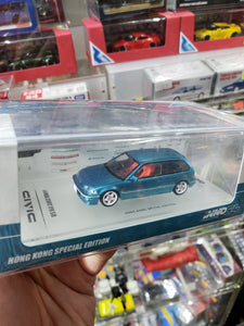Inno64 Honda Civic EF9 SIR Metallic Green 1990 Hong Kong Special Edition