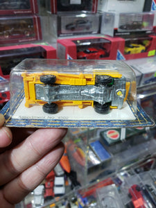 1974 Pocket Cars Yellow Power Company Service Truck Mint In Package Tomy Tomica