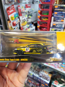Tarmac Works 1/64 Honda Civic Type R EK9 Direzza Malaysia Festival Exclusive