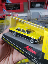 Load image into Gallery viewer, Schuco 1/64 Mercedes Benz 200D HK Taxi Ylw/Blk HK Toysoul Exclusive
