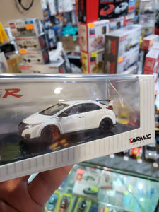 Tarmac Works 1/64 Honda Civic Type R FK2 2016 Champion White