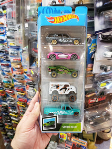Hot Wheels Speed Blur 5 Pack With Datsun 510 Wagon