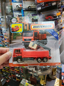 Matchbox Real Working Rigs Man TGS Flatbed Cargo Hauler