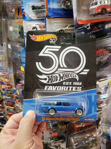 Hot Wheels 50th Anniversary Datsun Bluebird 510 Wagon Real Riders