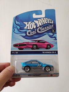 Hot Wheels Cool Classics 85 Honda CR-X Spectrfrost